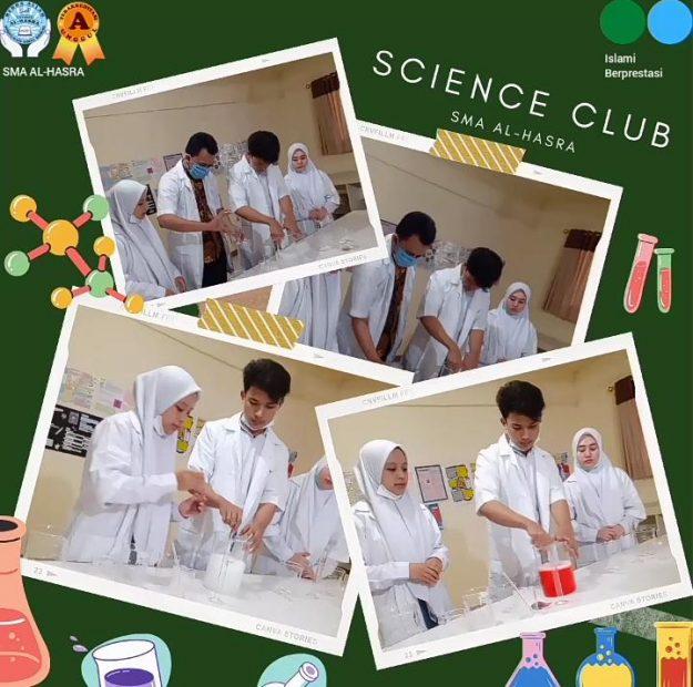 SABUN PENCUCI TANGAN DARI SCIENCE CLUB SMA AL HASRA